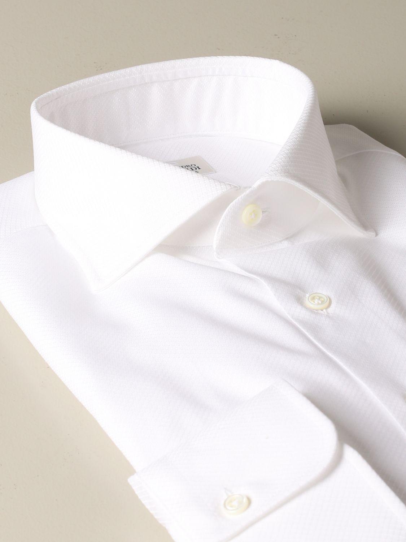 Shirt Alessandro Gherardi: Alessandro Gherardi regular fit shirt white 2