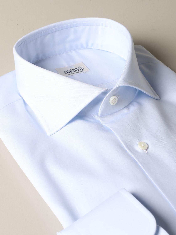 Camisa Alessandro Gherardi: Camisa hombre Alessandro Gherardi celeste 2