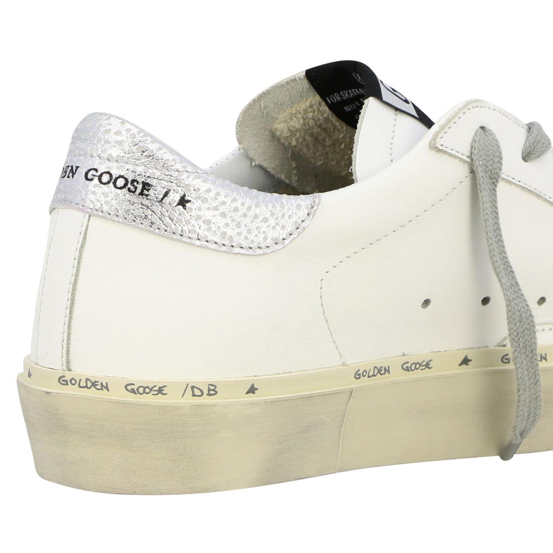 Sneakers Hi star Golden Goose in pelle con stella bianco 5