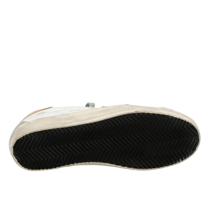 Sneakers Superstar Golden Goose in pelle con stella bianco 6