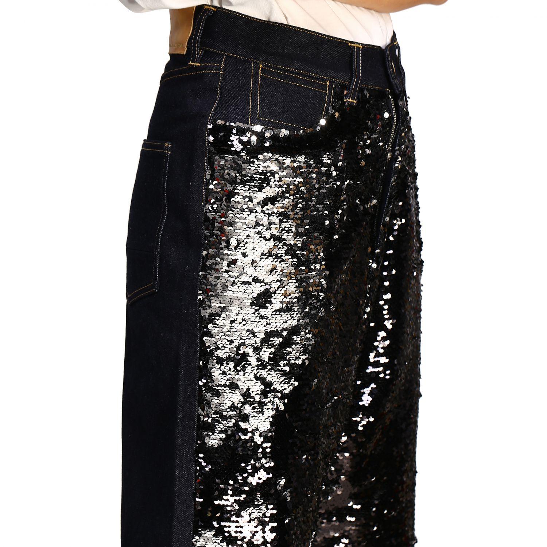 Jeans Golden Goose: Golden Goose Boyfriend Hose mit Pailletten schwarz 5