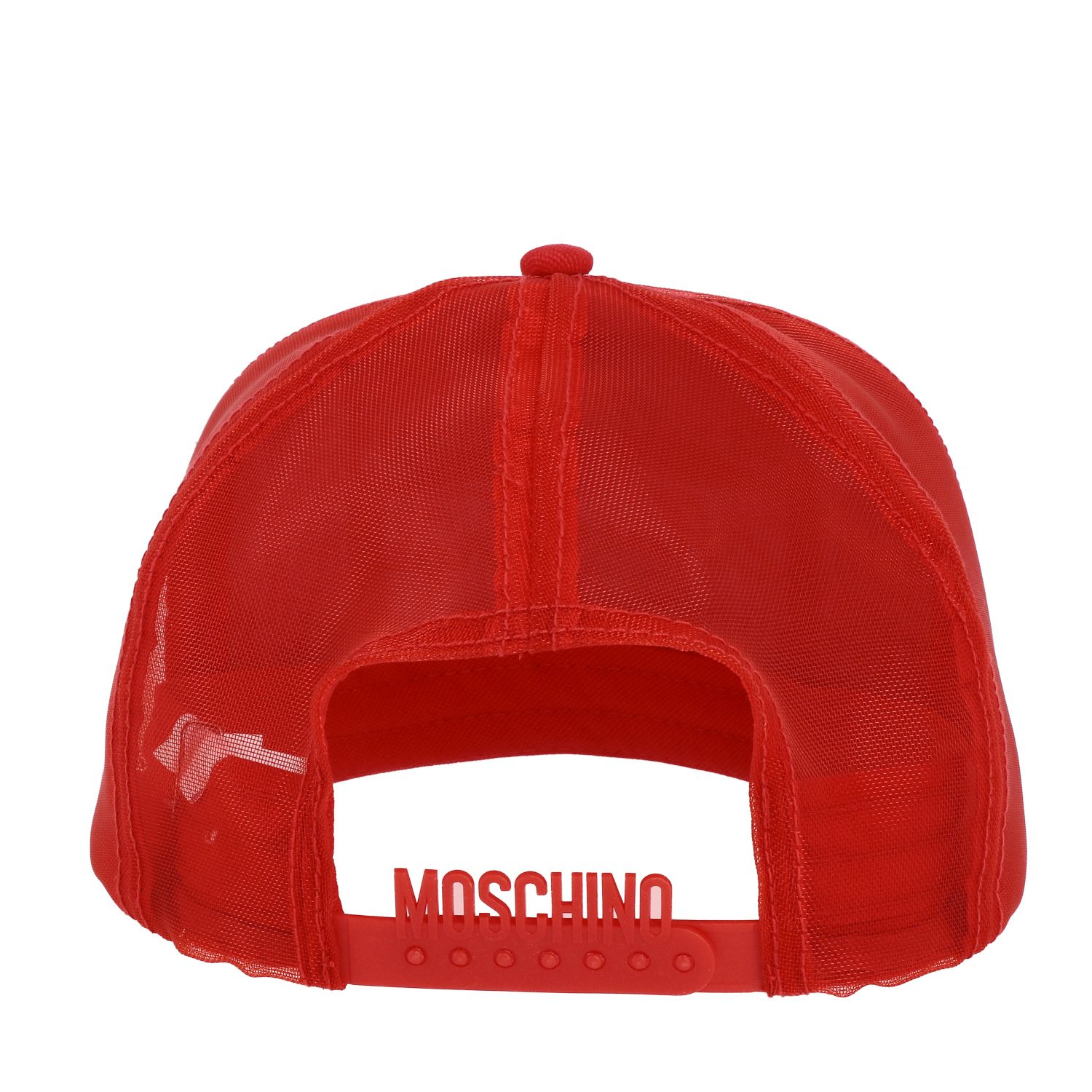 Cappello Capsule Collection Moschino X Budweiser rosso 2