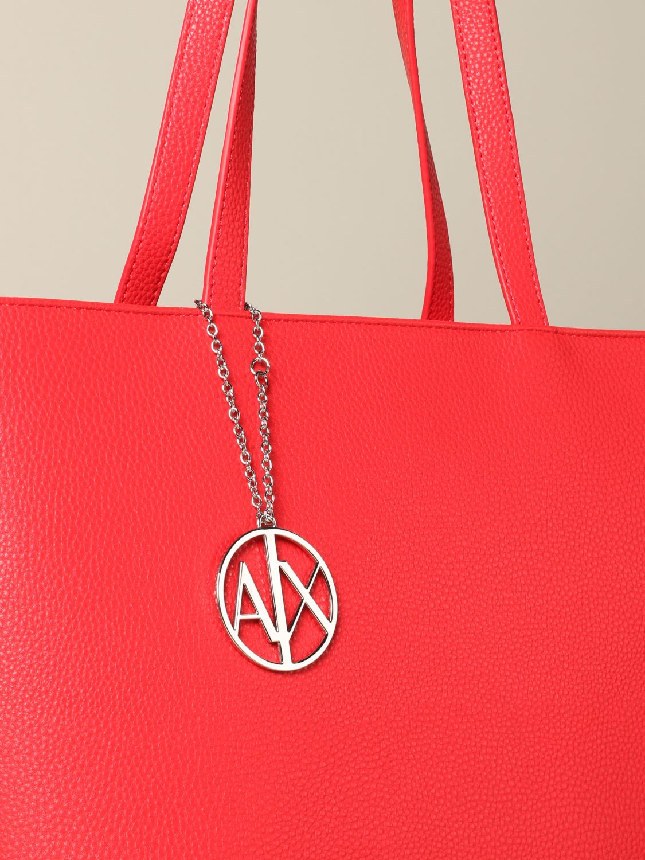 Shoulder bag women Armani Exchange coral 3