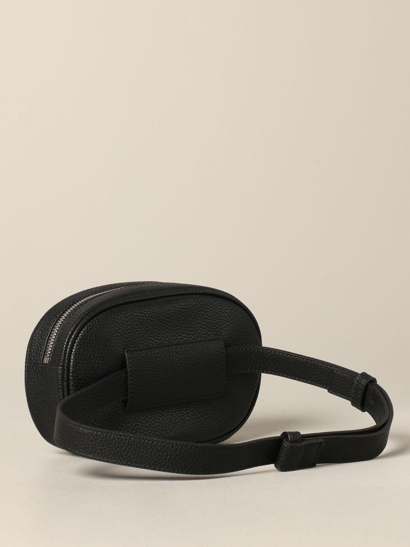 Armani Exchange belt bag in synthetic leather black 2
