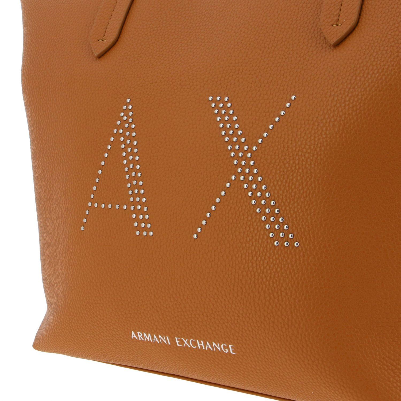 Bolso de hombro mujer Armani Exchange cuero 4