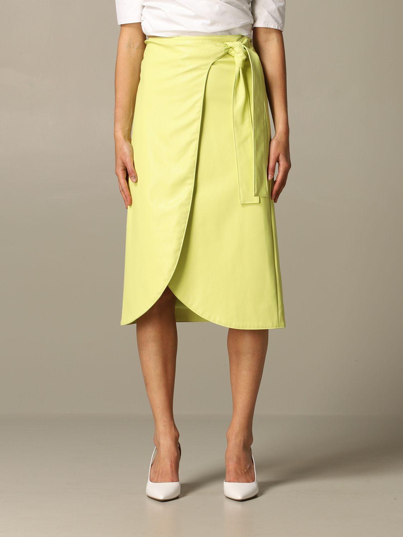 Skirt Armani Exchange: Skirt women Armani Exchange lime 1
