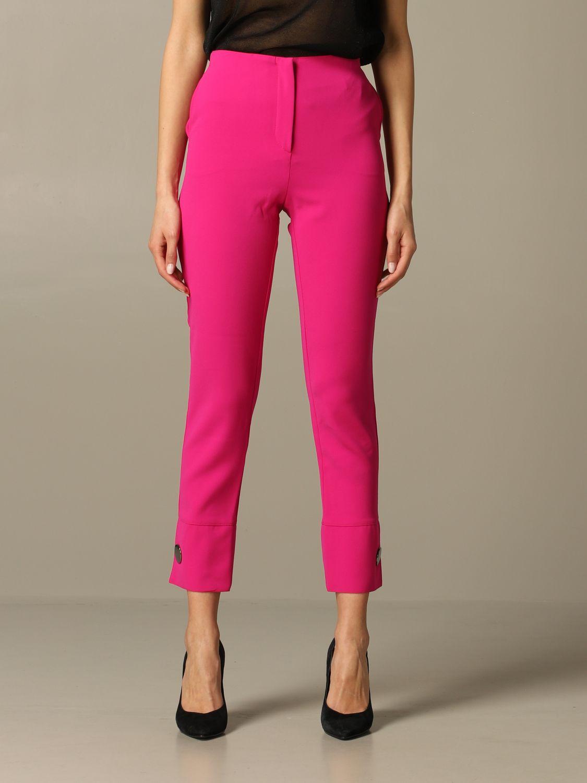 Trousers Armani Exchange: Trousers women Armani Exchange fuchsia 1