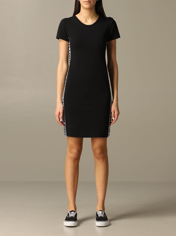 Armani Exchange Outlet Kleid Damen Kleid Armani Exchange Damen Schwarz Kleid Armani Exchange 3hyabn Yj90z Giglio De