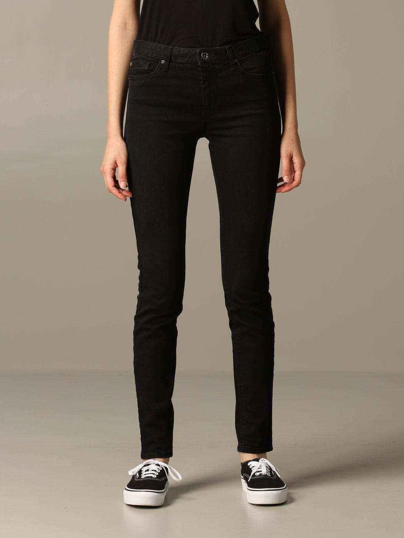 Jeans Armani Exchange: Jeans damen Armani Exchange schwarz 1