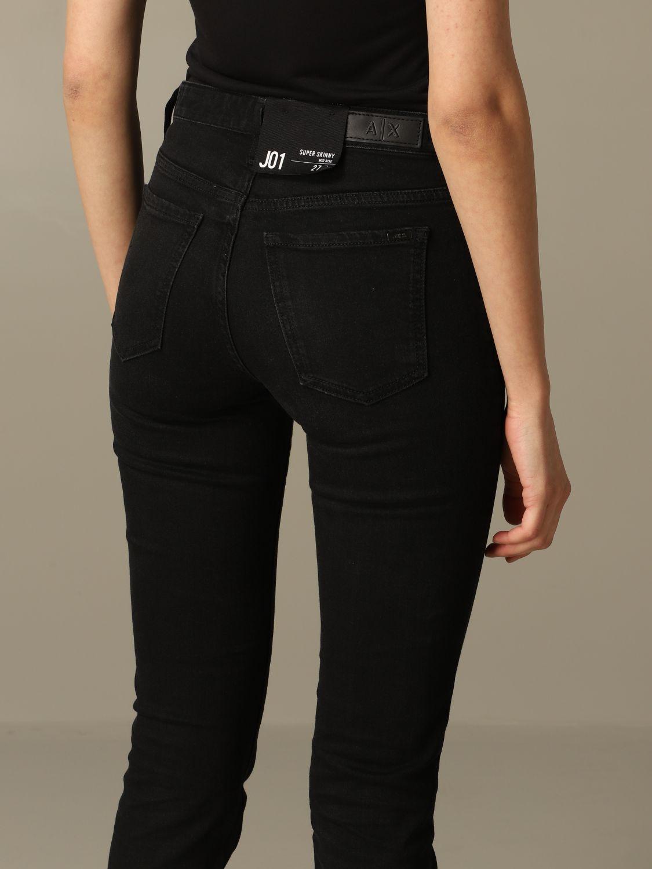Jeans Armani Exchange: Jeans damen Armani Exchange schwarz 3