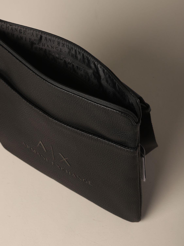 Shoulder bag Armani Exchange: Bags men Armani Exchange black 4