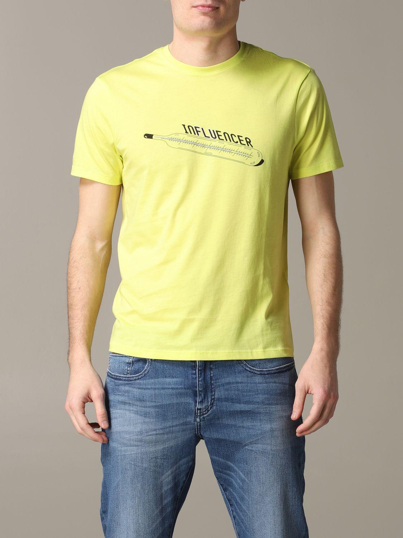 Футболка Armani Exchange: Футболка Мужское Armani Exchange желтый 1