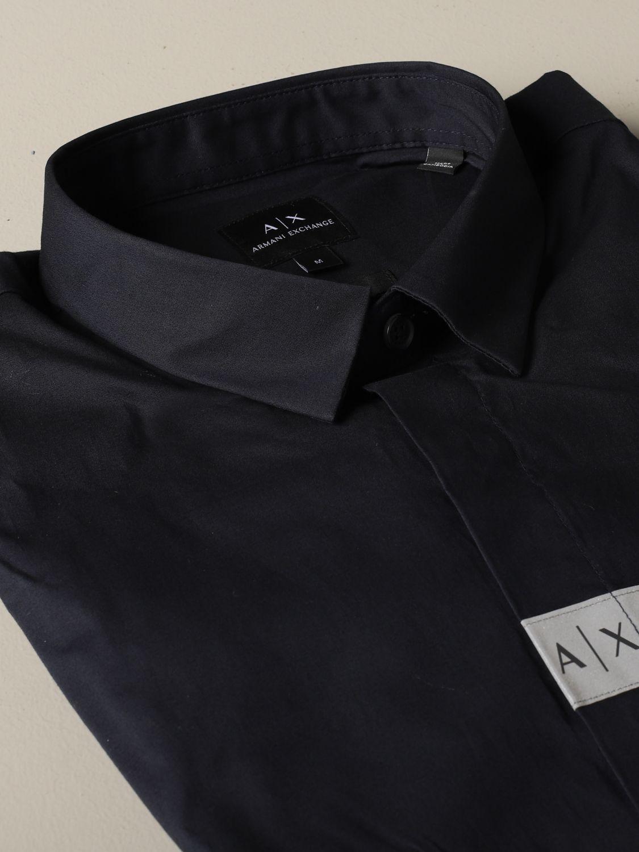 Hemd Armani Exchange: Hemd herren Armani Exchange blau 2