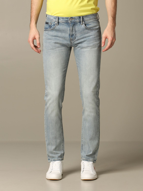 Jeans Armani Exchange: Armani Exchange slim stretch jeans stone washed 1