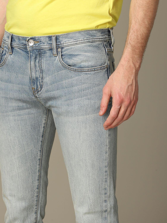 Джинсы Armani Exchange: Джинсы Мужское Armani Exchange потертый джинс 3