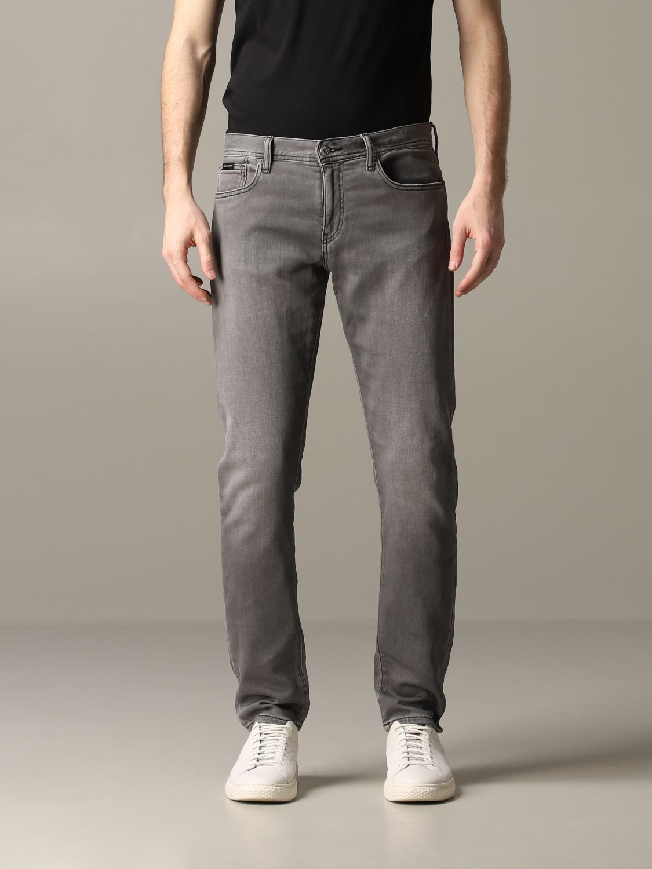 Jeans Armani Exchange: Armani Exchange Slim Fit Jeans grau 1