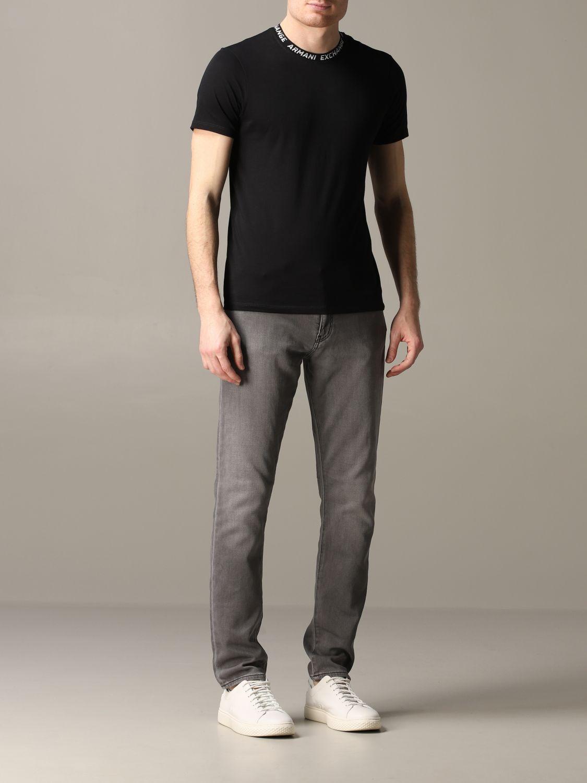 Jeans Armani Exchange: Armani Exchange Slim Fit Jeans grau 2