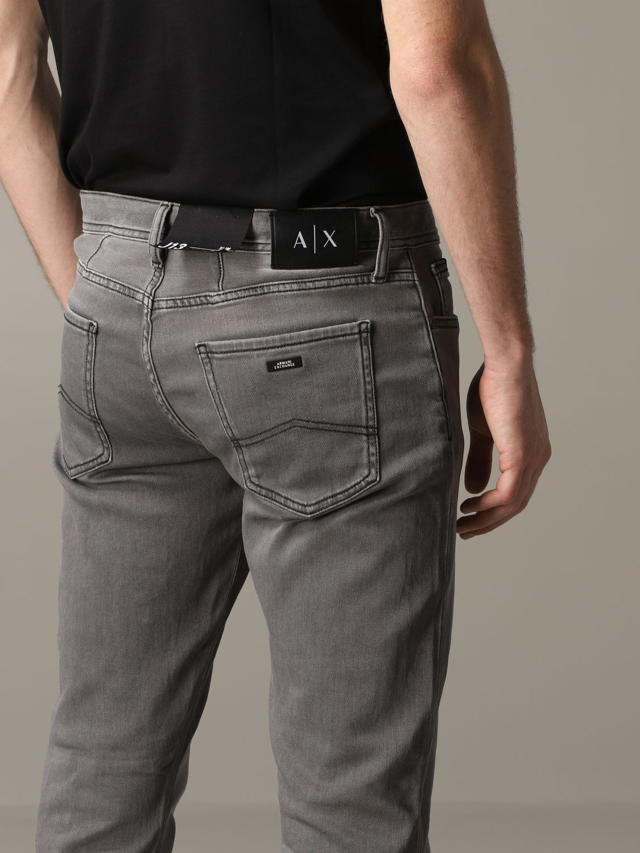 Jeans Armani Exchange: Armani Exchange Slim Fit Jeans grau 5