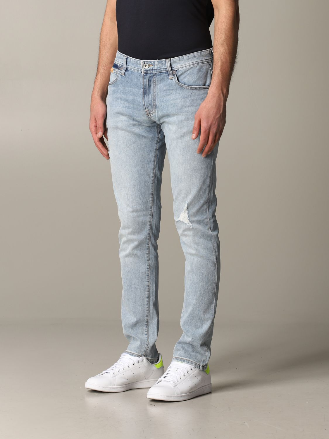 Jeans Armani Exchange: Armani Exchange skinny jeans with tears stone washed 4