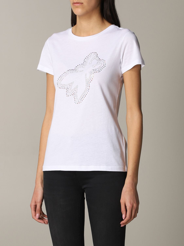 Patrizia Pepe T-Shirt mit Logo weiß 4