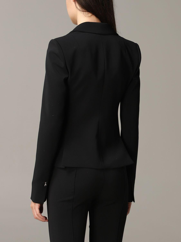 Patrizia Pepe single-breasted jacket black 3