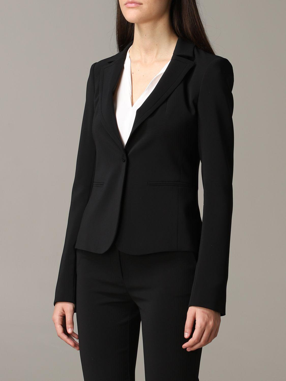 Patrizia Pepe single-breasted jacket black 4