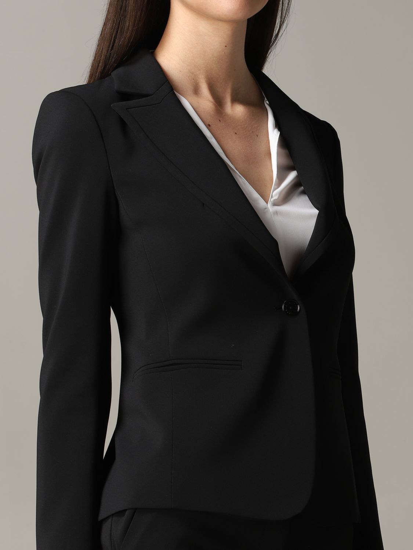 Patrizia Pepe single-breasted jacket black 5
