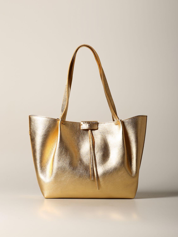 Shoulder bag women Patrizia Pepe gold 1