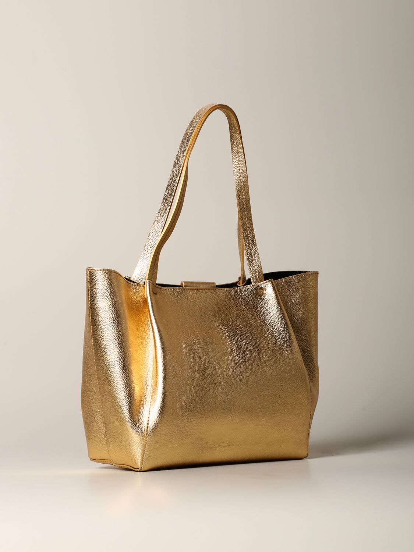 Shoulder bag women Patrizia Pepe gold 2