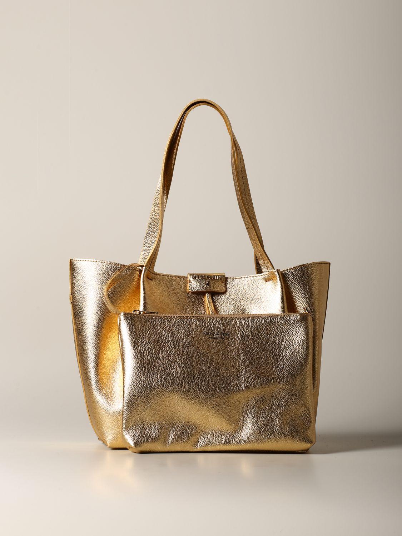 Shoulder bag women Patrizia Pepe gold 3