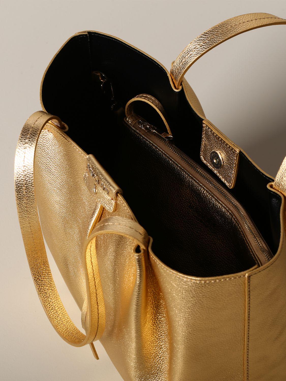 Shoulder bag women Patrizia Pepe gold 4