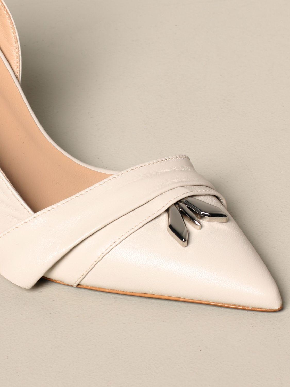 鞋 女士 Patrizia Pepe 奶油黄 4
