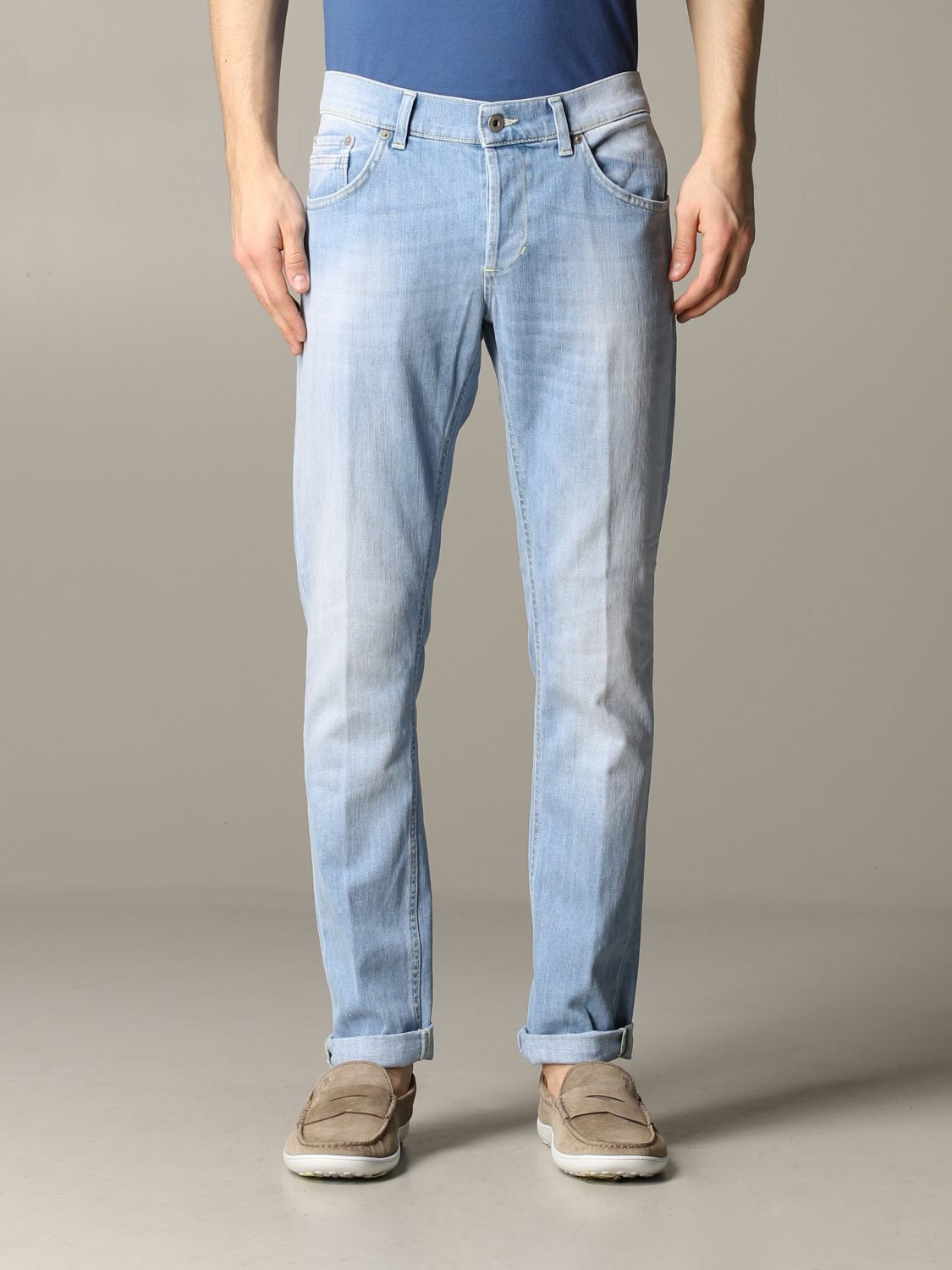 Jeans Dondup: Ritchie Dondup Slim Fit Jeans stone washed 1