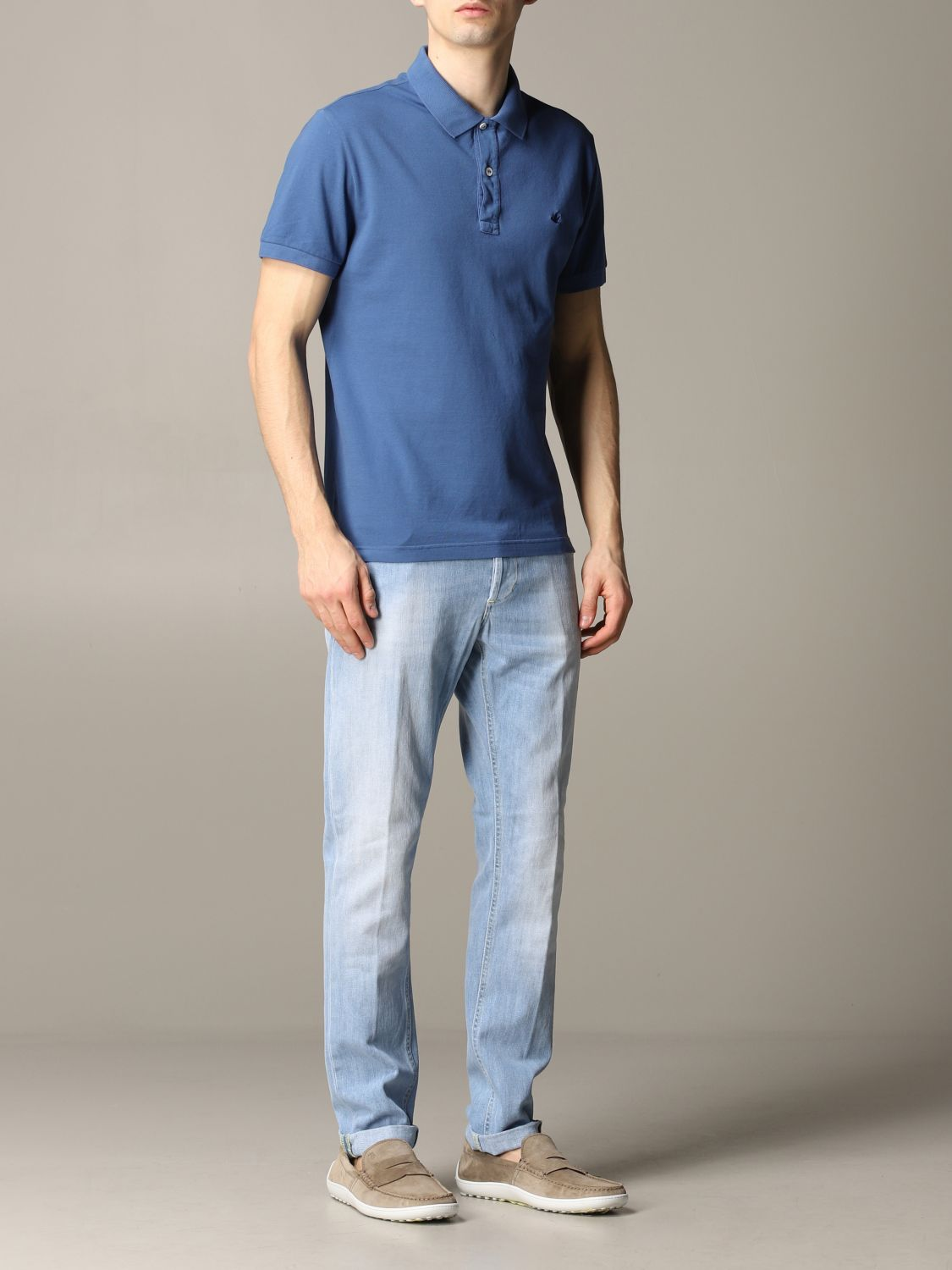 Jeans Dondup: Ritchie Dondup Slim Fit Jeans stone washed 2