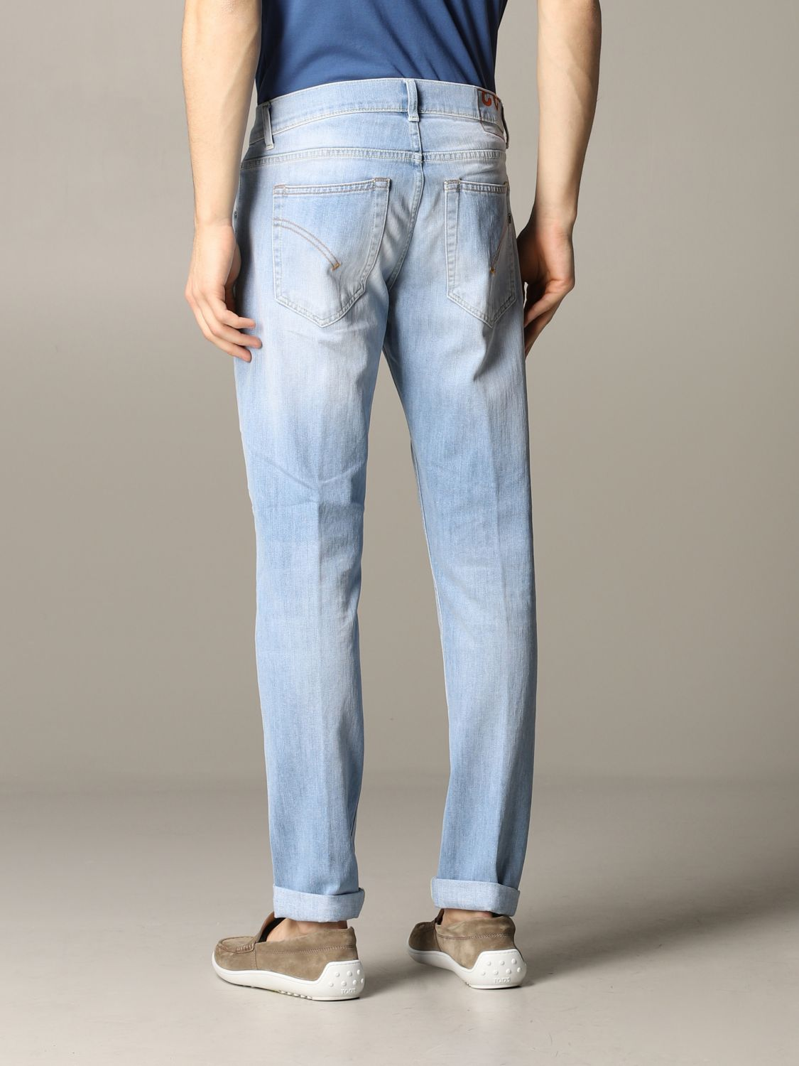 Jeans Dondup: Ritchie Dondup Slim Fit Jeans stone washed 3