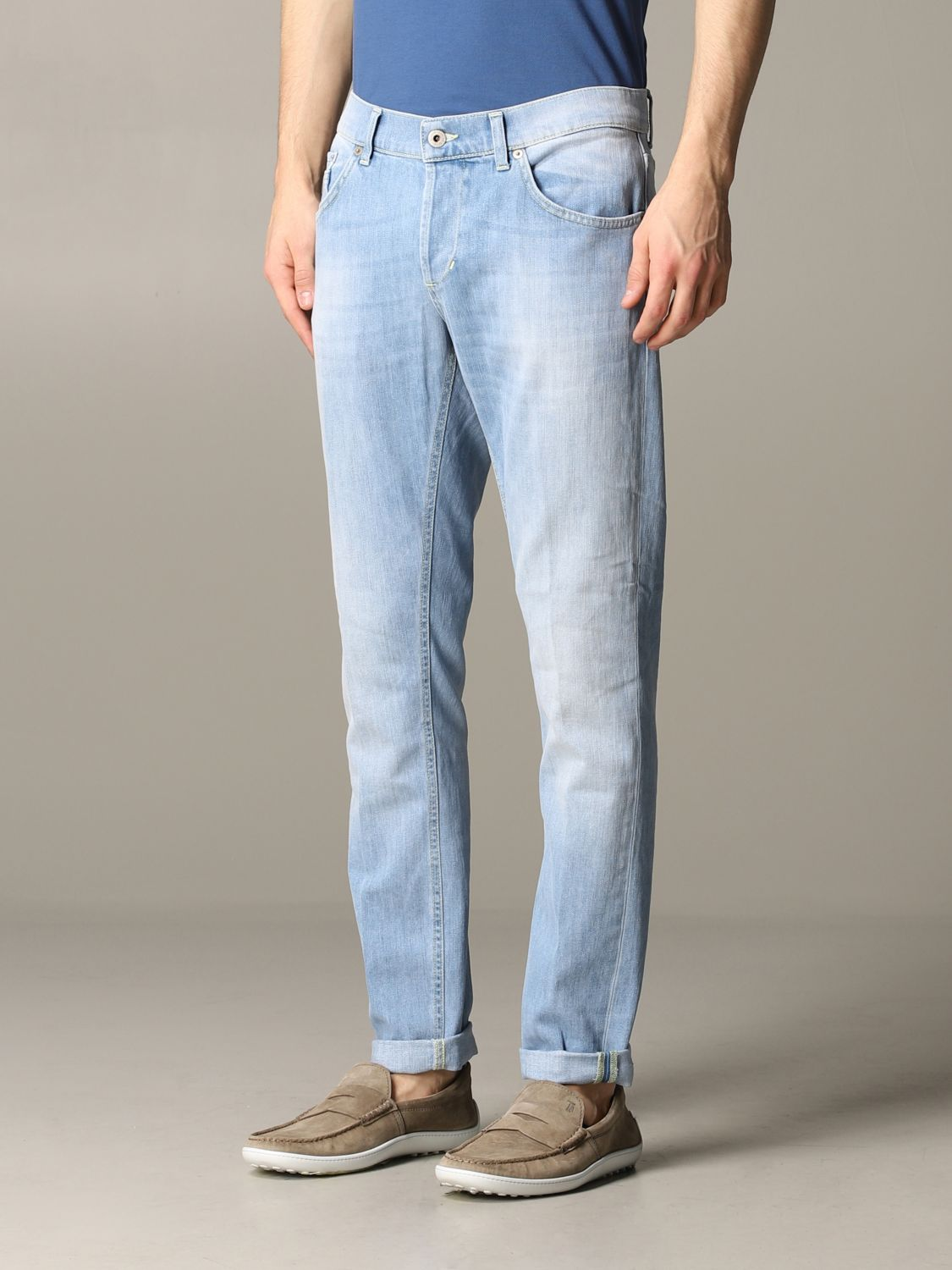 Jeans Dondup: Ritchie Dondup Slim Fit Jeans stone washed 4