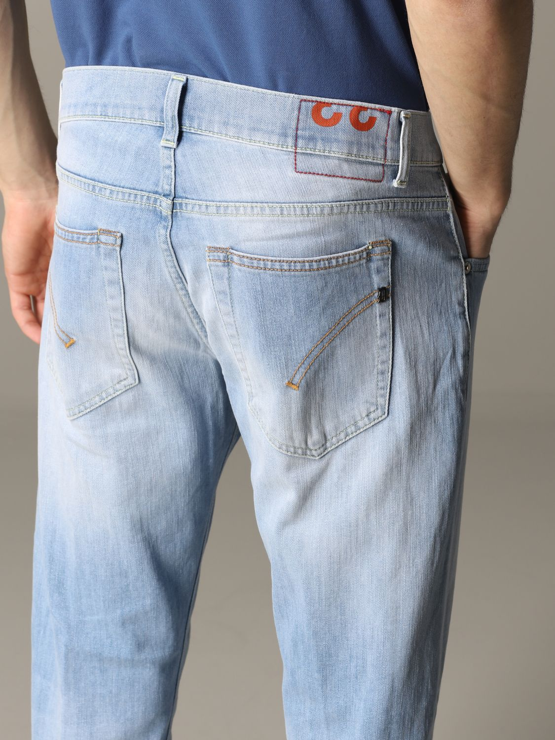 Jeans Dondup: Ritchie Dondup Slim Fit Jeans stone washed 5