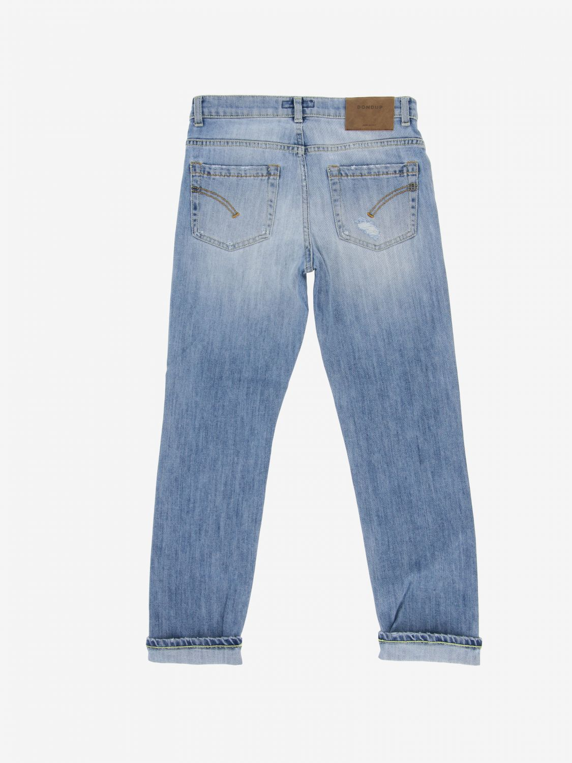 Jeans Dondup: Jeans Brighton Dondup used con rotture sstw 2