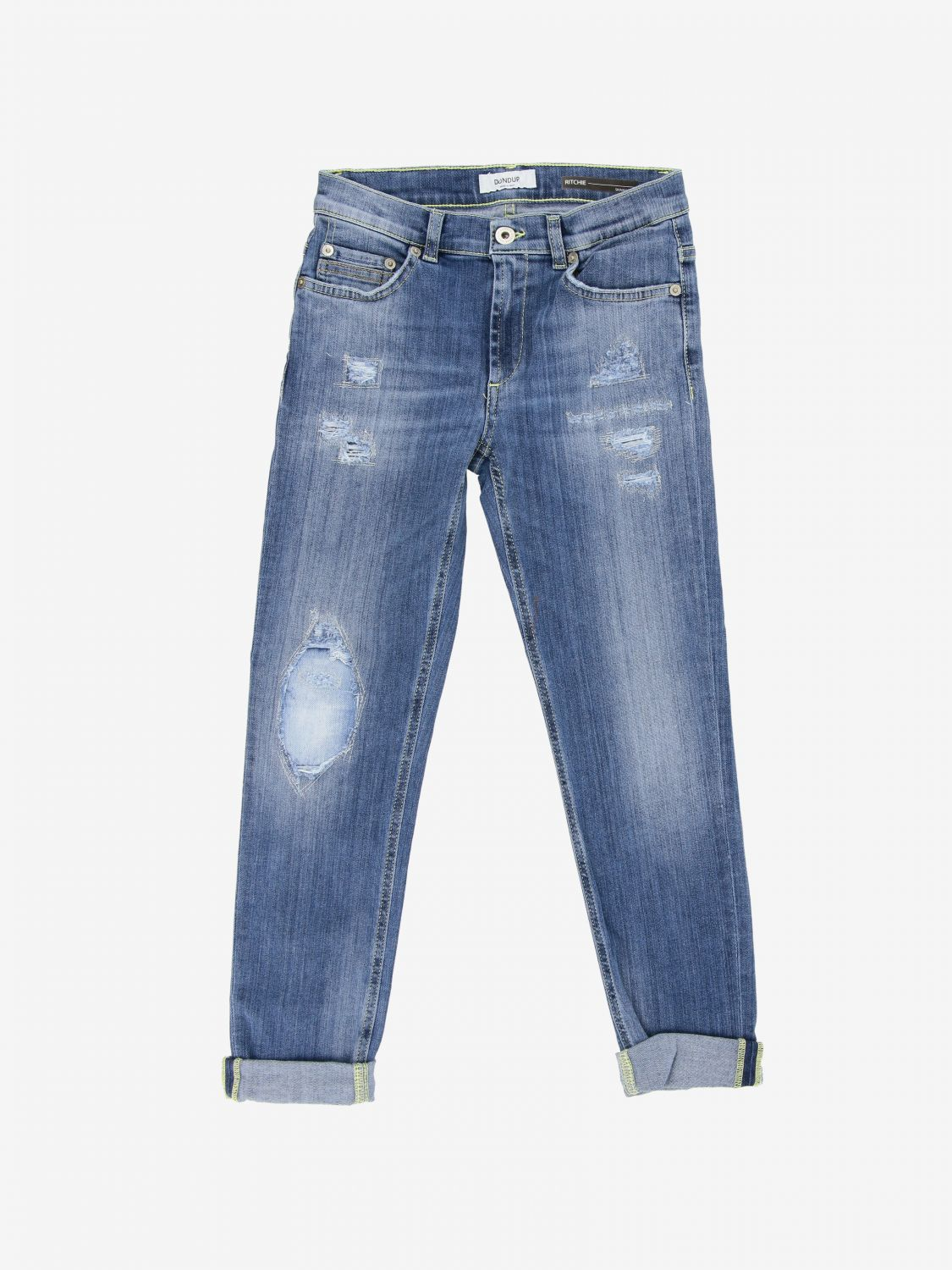 Jeans Dondup: Jeans kids Dondup stone washed 1