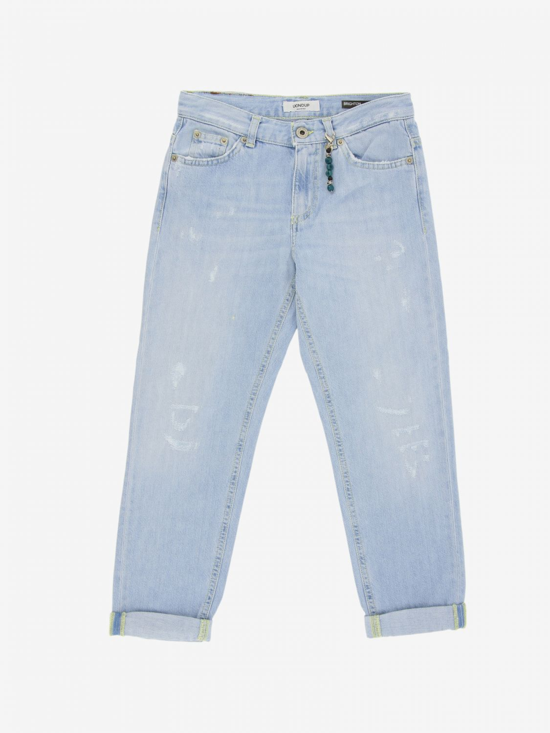 Jeans Dondup: Jeans Brighton Dondup con rotture sstb 1