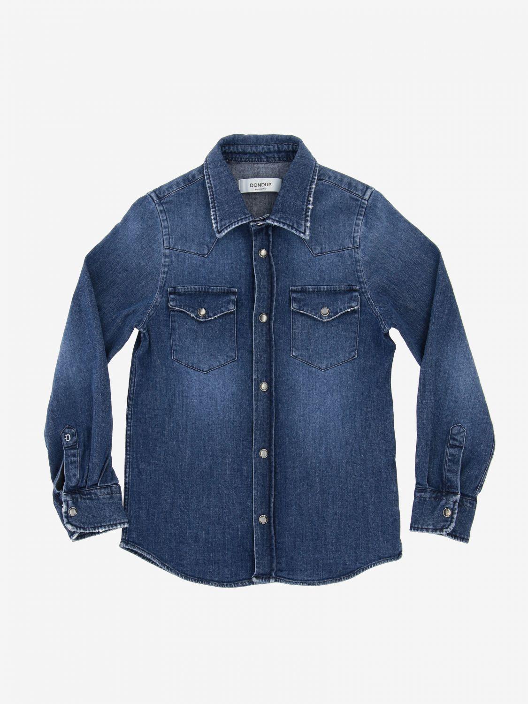 Camicia Dondup: Camicia di jeans Dondup a maniche lunghe blue 1