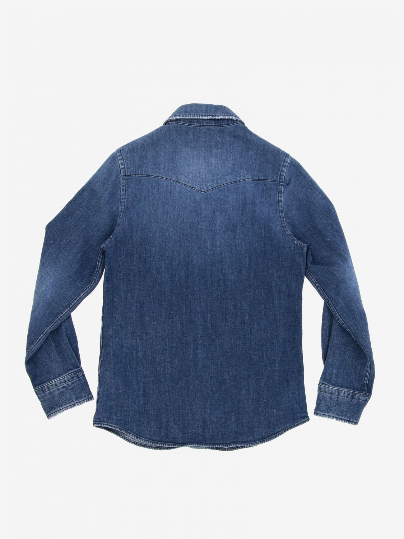 Camicia Dondup: Camicia di jeans Dondup a maniche lunghe blue 2