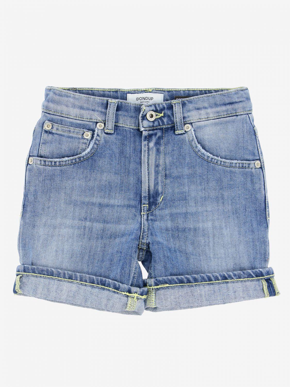 5-pocket Derick Dondup shorts blue 1