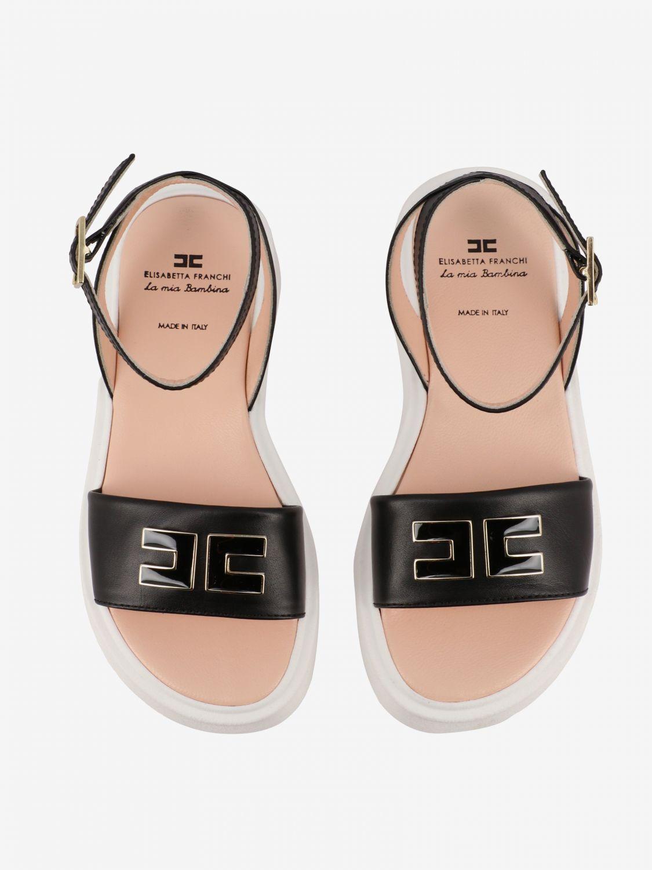 Shoes kids Elisabetta Franchi black 3
