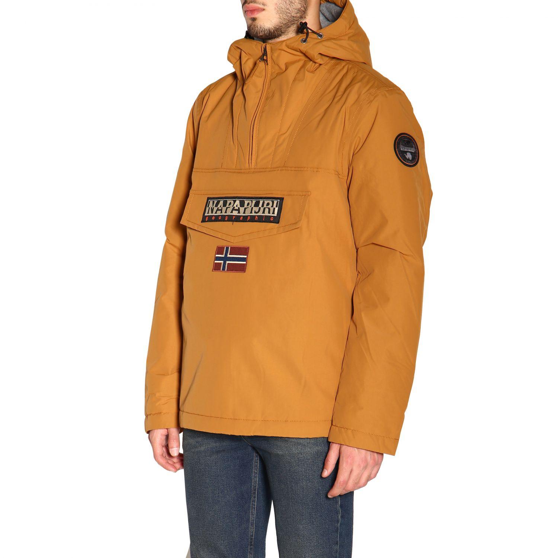 Куртка Мужское Napapijri коричневый 4