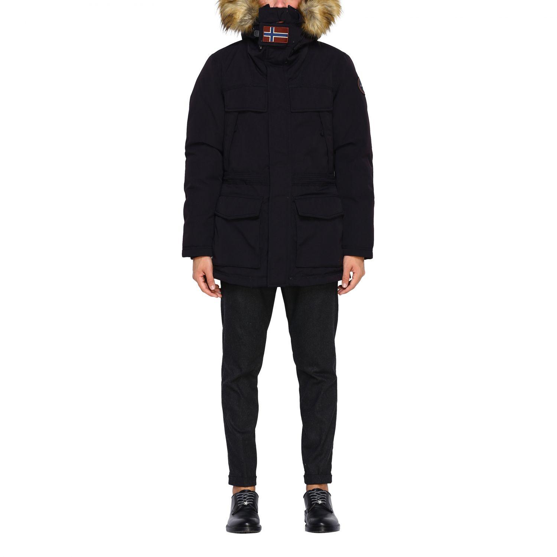 Куртка Мужское Napapijri черный 1