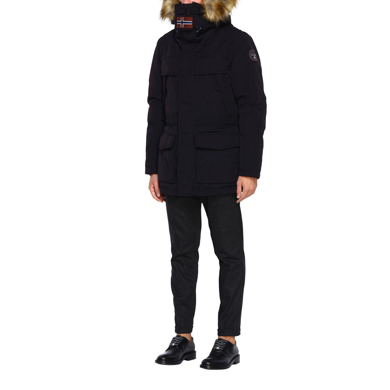 Куртка Мужское Napapijri черный 4