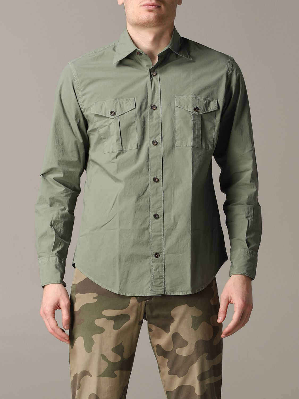 Shirt Eleventy: Shirt men Eleventy military 1