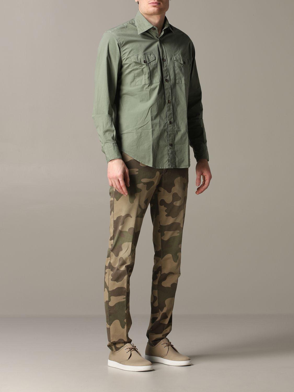 Shirt Eleventy: Shirt men Eleventy military 2