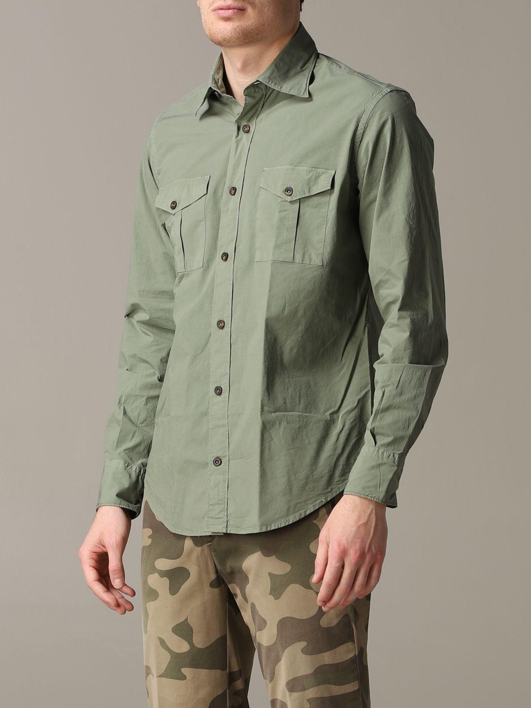 Shirt Eleventy: Shirt men Eleventy military 4